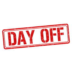 Day Off! – MS Students ONLY